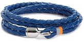 Miansai Men's 'Trice' Braided Leather Wrap Bracelet