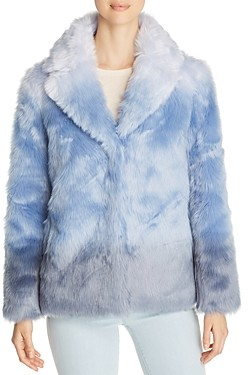Unreal Fur Icebreaker Ombre Short Faux Fur Coat