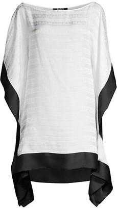 Balmain Short Silk Kaftan