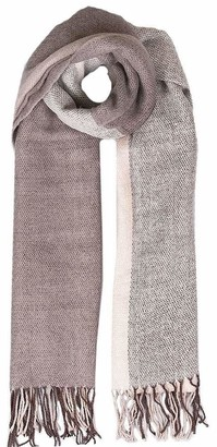 Dents Women's Ombre Woven Scarf MAUVE ONE