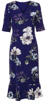 Phase Eight Cheryl Printed Sleeved Dress