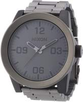 Nixon Men's Corporal Ss A3461062 Stainless-Steel Quartz Watch