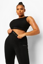 Thumbnail for your product : boohoo Plus Woman Active Sports Bra