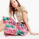 J.Crew A-line skirt in Ratti® painted pineapple
