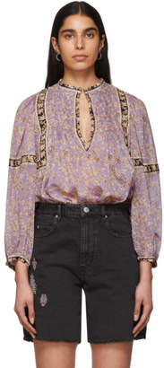 Etoile Isabel Marant Purple Violette Blouse