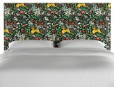 Bungalow Rose Lerman Nail Button Border Upholstered Wood Panel Headboard Size: Twin