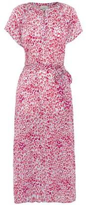 Primrose Park Fiona Dress - XS / Blue/Pink Leo