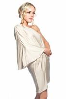 Naven Goddess Dress in Sand
