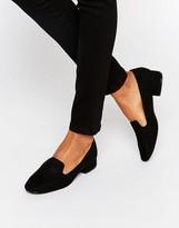 New Look Suedette Slip On Loafer