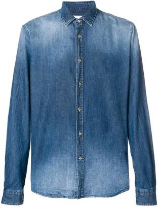 Dondup stonewashed denim shirt