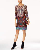 INC International Concepts Printed Sheath Dress, Created for Macy's