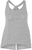 APL Athletic Propulsion Labs The Perfect Split-back Cotton-blend Tank