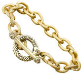 "Jay Strongwater Rhodes"" Toggle Bracelet, 7.5"""