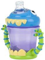 Nuby No-Spill Spout Cup - 3-D Monster - 7 oz