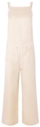 Komodo Organic Linen Tya Jumpsuit in Warm Sand Cream - 8