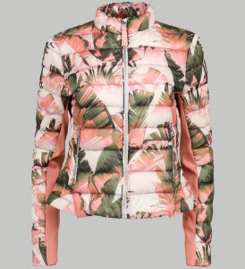 Mackage Cindee Leaf Jacket - XS - Pink/Green/White