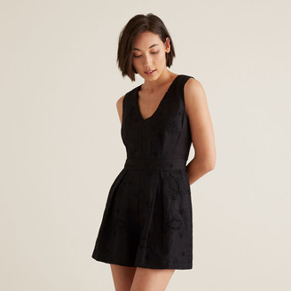 Seed Heritage Oct Broderie Playsuit