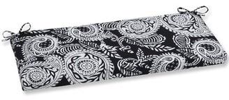 Bungalow Rose Patchell Indoor/Outdoor Bench Cushion Fabric: Black