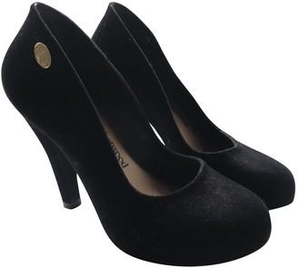 Vivienne Westwood Black Rubber Heels