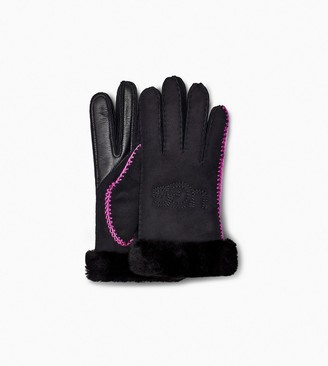 UGG Shearling Embroidery Glove