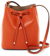 Lodis Blake Leather Bucket Bag