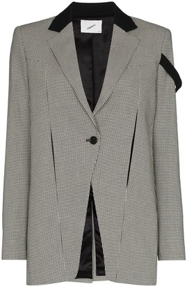 Coperni Connection houndstooth check jacket