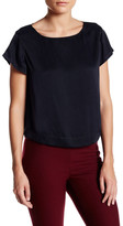 Alice + Olivia Relaxed Boxy Silk Blend Tee