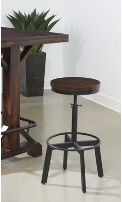 Foundry Select Iconium Adjustable Height Bar Stool Foundry Select
