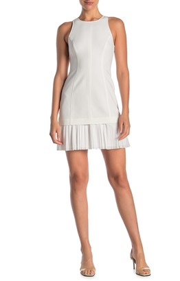 Cinq à Sept Catronia Pleated Sheath Dress