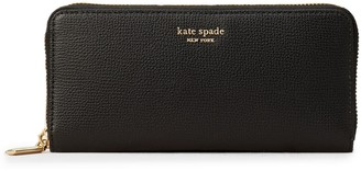 Kate Spade Sylvia Slim Leather Continental Wallet
