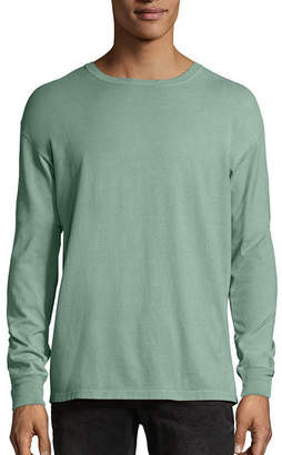 Hanes Men's ComfortWash Garment-Dyed Long Sleeve Tee
