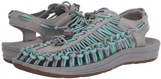 Keen Uneek (Drizzle/Cockatoo) Women's Toe Open Shoes