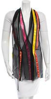 Dolce & Gabbana Silk Open Front Vest