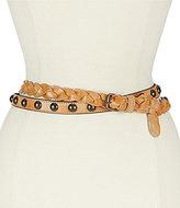 Bed Stu Spark Braided Leather Belt