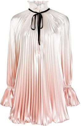 Philosophy di Lorenzo Serafini Pleated Ombre Mini Dress