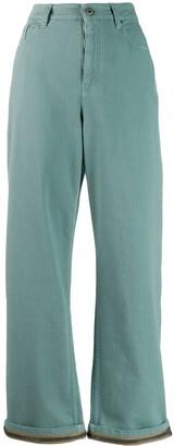 Brunello Cucinelli chain trim jeans