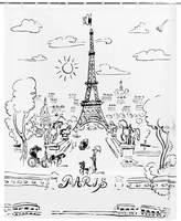 Creative Bath Paris Day Peva Shower Curtain Bedding