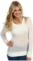 Gabriella Rocha Rory Long Sleeve Pullover (Ivory) - Apparel