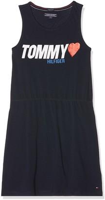 Tommy Hilfiger Girl's Peppy Knit Dress Slvls