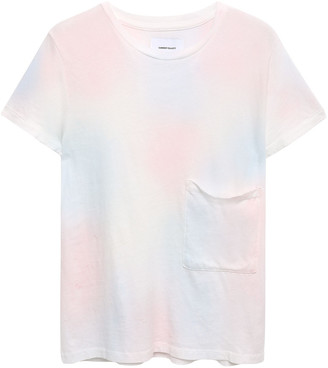 Current/Elliott Tie-dyed Cotton-jersey T-shirt