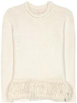 Vanessa Bruno Knitted Alpaca Sweater