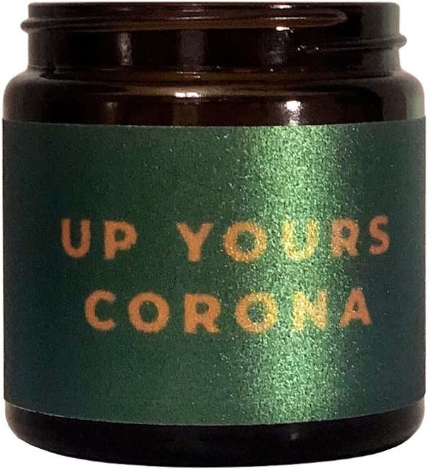 Little Karma Co. Up Yours Corona - All Day Eating 85G Candle