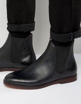 Hudson London Tamper Leather Chelsea Boots