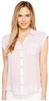 Calvin Klein Jeans Whisper Weight Pop Over Blouse