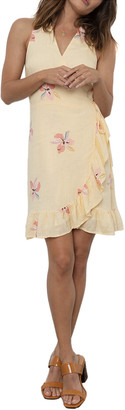 Rails Madison Linen-Blend Mini Dress