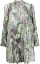 Etro paisley print pleated dress