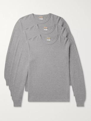Visvim Three-Pack Cotton-Jersey Thermal T-Shirts