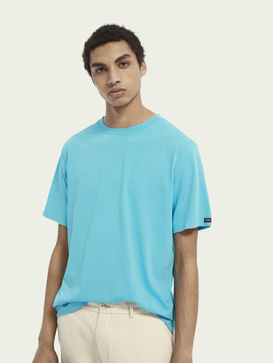 Scotch & Soda Basic cotton short sleeve t-shirt | Men