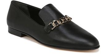 Via Spiga Yania Chain Link Leather Loafer
