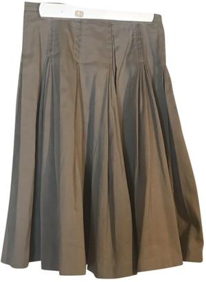 Bottega Veneta Beige Cotton Skirt for Women